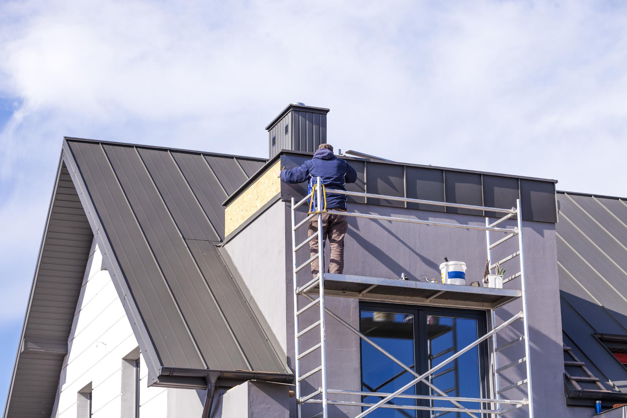 Metal Standing Seam Roof Installation  Aurora, CO